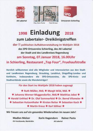 AKTUELLES - SPD Schierling: sozial und bürgernah für unsere Heimat!